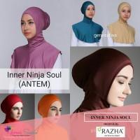 inner ninja soul razha ciput hijab maroko dalaman jilbab antem inner