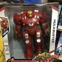 Mainan Robot Hulkbuster Ironbuster Ironman Hulk Baterai SNI