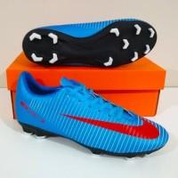 PAKET BONUS HEMAT Sepatu Bola Nike MERCURIAL Veloce FG - Blue