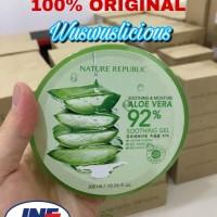 [100% Original] Nature Republic Aloe Vera 92% 300ml