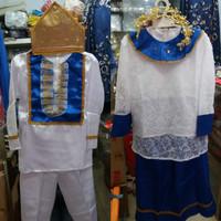 Pakaian baju adat anak baju manado-sulawesi