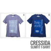CRESSIDA NOSHK-971637 Slimfit T-Shirt / Kaos Pria / Kaos Oblong