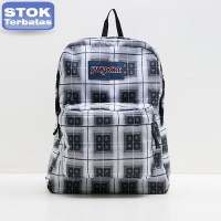 Tas Original Jansport Black Grey Multibox