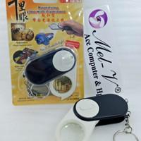 Kaca Pembesar Tekuk J103 / Magnifying glass LED