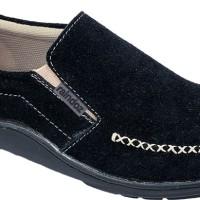Sepatu Casual Pria suede hitam Raindoz RND 009 original Cibaduyut ori