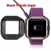kabel charger usb cable jam tangan fitbit blaze smartwatch smart watch