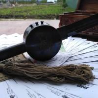 Samurai roll asli tombol 3 perunggu roll kedap udara lar kumbang hitam
