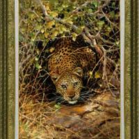 lukisan macan tutul