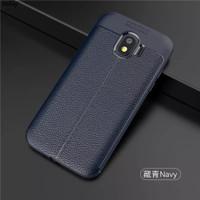 Case Auto focus Leather Samsung J2 Pro Soft case Casing Kulit J2Pro