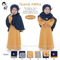 Gamis jilbab syari baju muslim anak perempuan ori felio 2 3 tahun