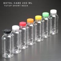 Botol Plastik 200 ml - Botol Cabe 200 ml