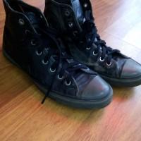sepatu converse original leather kulit