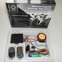 Promo Alarm Motor Merk Vinyx + Baterai Cadangan Anti Maling / Viynix