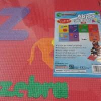 Sale! Merci Evamat Karpet Puzzle Gambar Abjad - 26 Pcs Hot