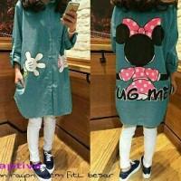 model baju mini dress terkini dan murah M captiva