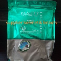 Masker Wajah Peel Off Beauty Cottage Blackmud/Charcoal blackmud bubuk