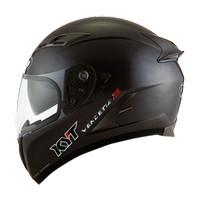 Helm Full Face KYT Vendetta 2 Solid Black Doff Original