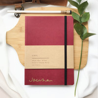 Cava Notebook Scarlet Red + custom nama