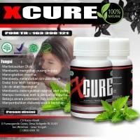 XCURE Obat Herbal Kuat Pria Tahan Lama Khusus Penderita Diabetes BPOM