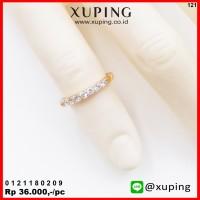XUPING CINCIN ANAK MOTIF BARIS EMAS ZIRCON 0121180209