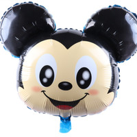 Balon Foil Karakter Mickey Minnie Head New