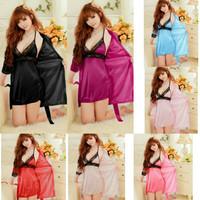 Yumico Kimono Lingerie Set -Baju Tidur Piyama Sleepwear Fashion Wanita