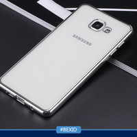 Samsung Galaxy A9 Pro A9Pro | Softcase Shining Chrome Soft Case