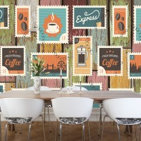 Wallpaper Dinding Custom Murah - Wallpaper Printing Tema Vintage