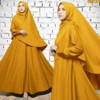 Manset Gamis wanita muslimah Spandek new fashion 7700HTY