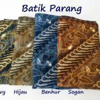 Kain Batik Primisima Solo Motif Parang untuk kemeja blus gaun sarimbit