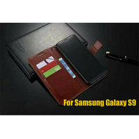 Samsung Galaxy S9 case hp dompet kulit LEATHER FLIP COVER WALLET