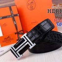 Belt Tali Ikat Pinggang Wanita Branded Import Hermes W4485 4485 Silver