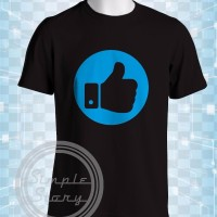 terbaru Kaos Distro Like Icon Baju Tshirt Unik