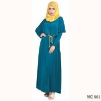 Jual baru Baju Gamis Pesta Modern warna Biru Simple Murah