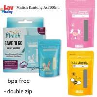 Malish Kantong Asi 100ml breastmilk bags seperti gabag