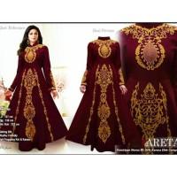 baju india miss areta Baju muslim pesta mewah xl terbaru murah tk