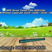 OPC Drum Toner HP 12A (Q2612A) JPN Printer  LaserJet 1010 / 1020