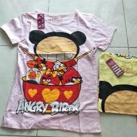 Jual Kaos Anak Perempuan Angry Birds Jepang Murah