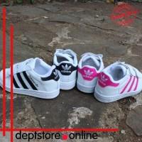 Sepatu Anak Laki|Perempuan Perekat Adidas Superstar Terbaru