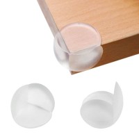 pelindung sudut meja silikon oval transparant pengaman siku