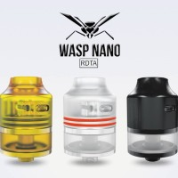 Authentic WASP nano RDTA ultem cap 22mm Atomizer vape vaporizer
