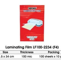 Laminating Film - Joyko - LF100-2234 (Folio) 100s