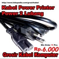 Kabel Power Printer 2 Lubang