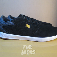 Sepatu Skateboard Original DC Shoes New Jack S Super Suede Hitam 43