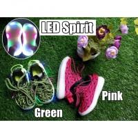 (21-30) Sepatu Olahraga / Sneakers / Kets Anak TK Lampu / LED Spirit