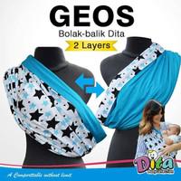 Geos Gendongan Bayi Bobal 2 Layer sz L