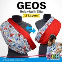 Geos Gendongan Bayi Bobal 2Layer sz S M