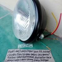 LAMPU DEPAN HONDA CB100-S90Z-GL100-GL125-GLPRO-GL MAX-MEGAPRO-TIGER h4