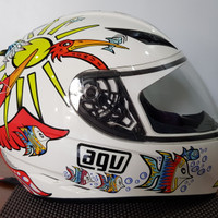 helm agv k3 rossi zoo size XL