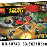 Jual LEGO SUPERHERO BELA 10743 GUARDIANS OF THE GALAXY MAINAN EDUKASI ANAK Murah